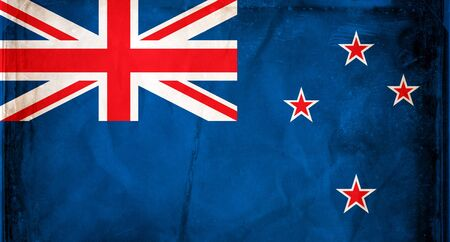 new age: Grunge flag series -  New Zealand