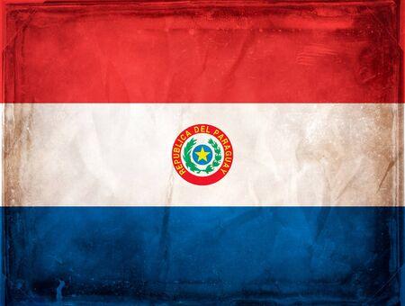 Paraguay: Grunge drapeau series - Paraguay Banque d'images
