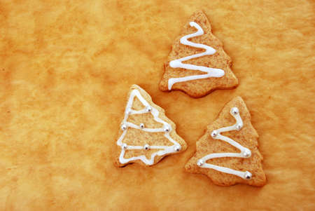 Decorated Christmas cookies close-up Stock Photo - 8694712