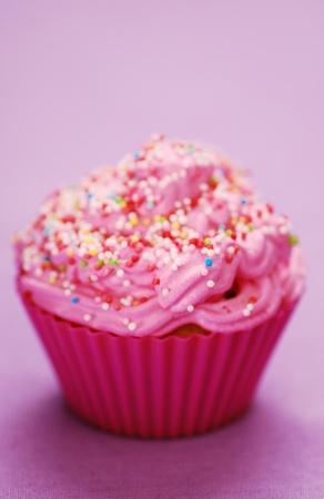 Rose cupcake anniversaire surprise