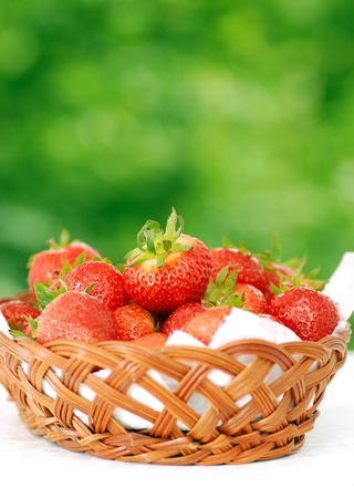 fresh strawberry Stock Photo - 8694533