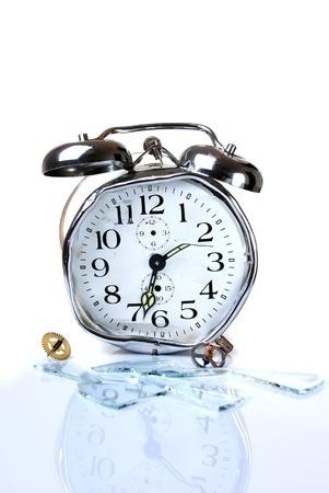 endings: Good morning - Broken alarm clock