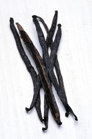 pods: vanilla pods high resolution image Stock Photo