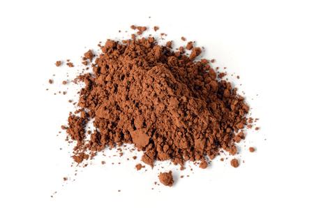 Vainas de algarroba maduras y polvo de algarrobo, se pueden utilizar como un sustituto para el cacao