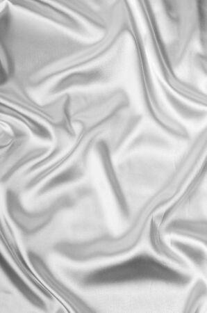white silk: Smooth elegant white silk background Stock Photo