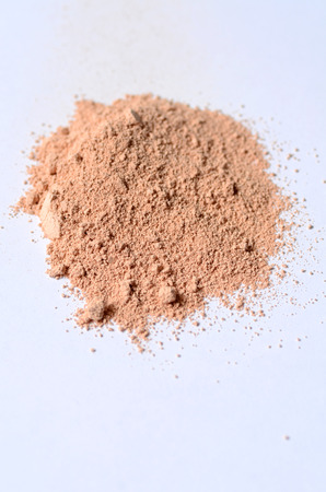Rose Clay or pink cosmetic clay for spa treatments 스톡 콘텐츠