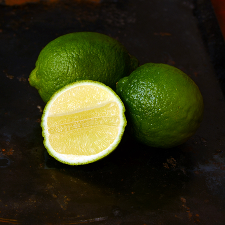 juicy: Fresh juicy limes Stock Photo
