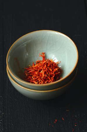 Spanish Saffron spice Stock Photo