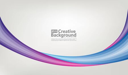 Colorful geometric background. Liquid, flow, fluid background. Fluid 3d shapes composition. Modern abstract cover. Fluid colors shapes. Ilustracja