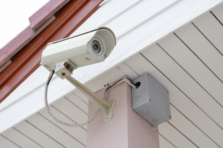 Security Camera or CCTV in home Stock Photo - 16971892