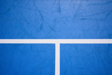 Detail of a tennis court photo