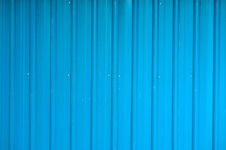 Corrugated fence background photo