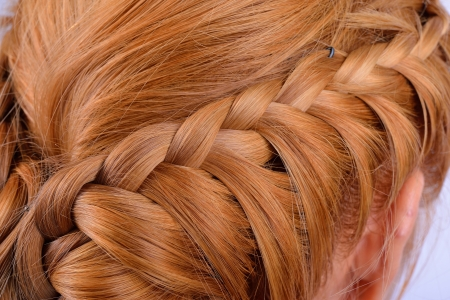 Rear view of a hairstyle Stock Photo - 20535339
