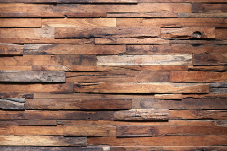muebles de madera: Pared de madera de madera de textura de fondo