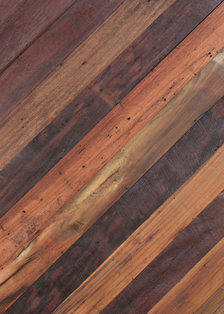 retro furniture: wood brown plank texture background Stock Photo