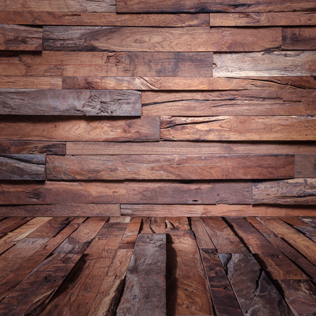 Holz-Holz-Mauer Industrial background