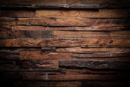 drewno: Konstrukcja ciemnego drewna tekstury tła