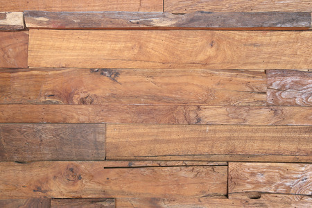 wood surface: wood brown plank texture background Stock Photo