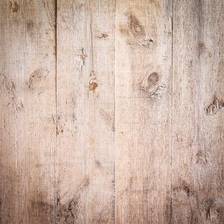 wood brown aged plank texture, vintage background Standard-Bild