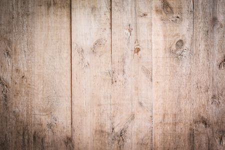 wood brown aged plank texture, vintage background Standard-Bild