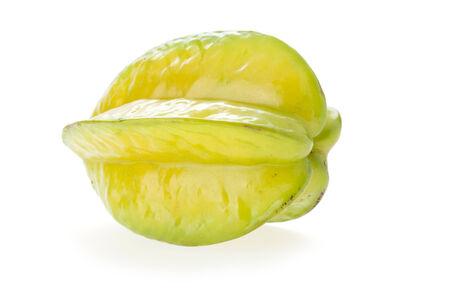 carambola: carambola, star fruit isolated on white background