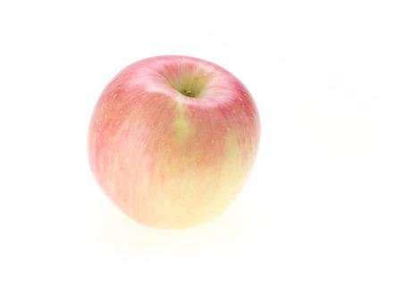apple fuji isolated on white background