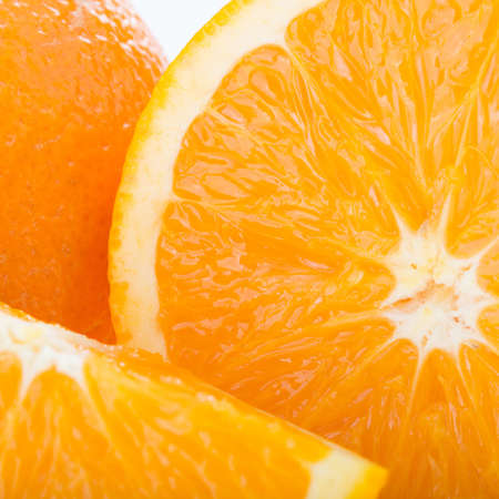 orange fruit, close up image texture background photo