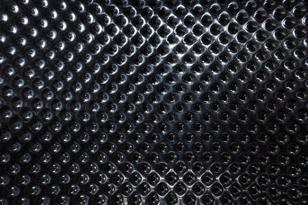 silver steel metallic hole texture background photo