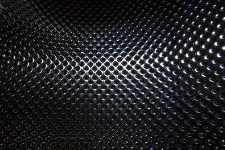 metal grid: silver steel metallic hole texture background
