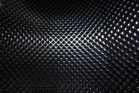 black metallic background: silver steel metallic hole texture background