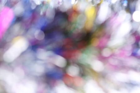 de focused: abstract colorful light celebration background with de focused lights Stock Photo