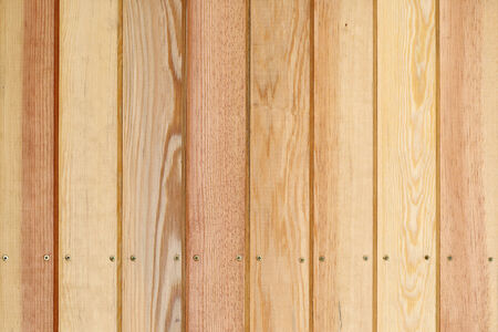 wood plank panel background decorated wall in house photo