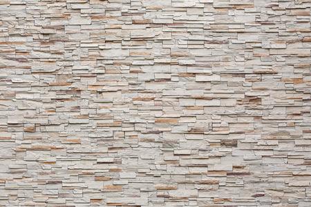 장식 돌 벽 배경의 패턴