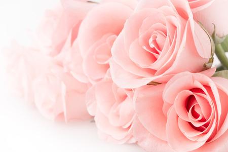 バラの花の花束のビンテージ背景