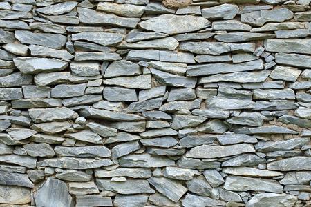 Amazing Muster Der Dekorativen Steinmauer Hintergrund Photo