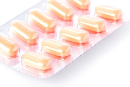 psychotropic medication: pills of medical