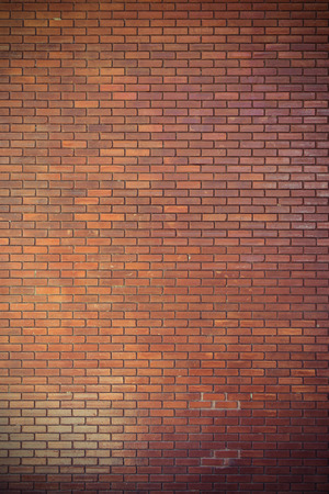 brick wall texture background material of industry construction, image used retro filter