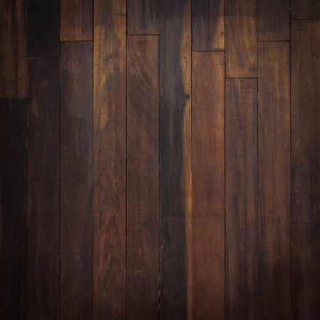 dark wood: timber wood brown wall plank panel texture background Stock Photo