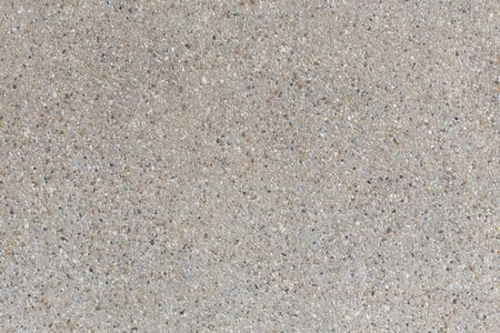 concrete floor: background of sand and small gravel stone texture Stock Photo