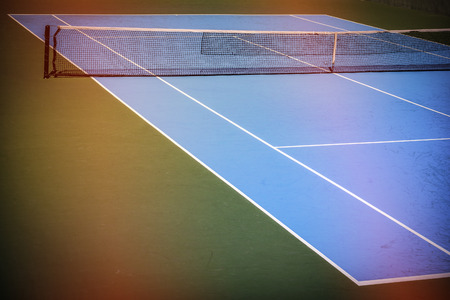 blue green background: blue and green tennis court sport background