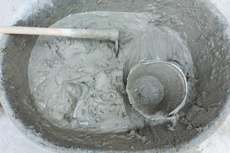 plasterwork: plaster cement concrete poured mixer for residential building construction
