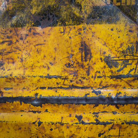 corroded: yellow metal rusty corroded texture, grunge background
