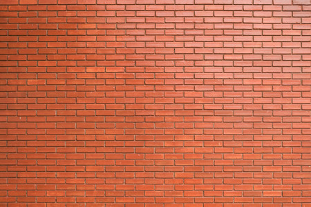 brick wall texture background material of industry building construction Stock Photo