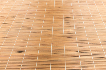 curtain window: bamboo blinds asia style Stock Photo
