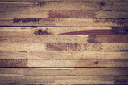 log deck: vintage wood background, timber wood wall barn plank texture, image used vignette retro vintage filter Stock Photo