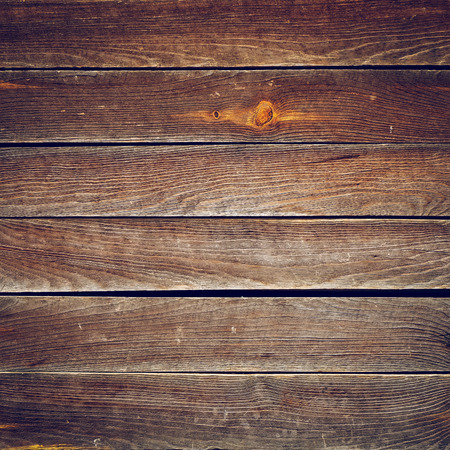 black boards: timber brown wood plank texture, timber wall industrial background, image used vintage retro filter Stock Photo