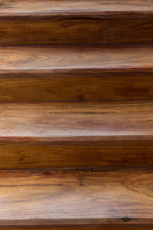 Brown Wooden Staircase Made Wood Laminate Plank In Modern House Stock  Photo, Picture And Royalty Free Image. Image 51725205.