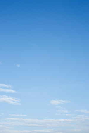 white cloud on clear blue sky background