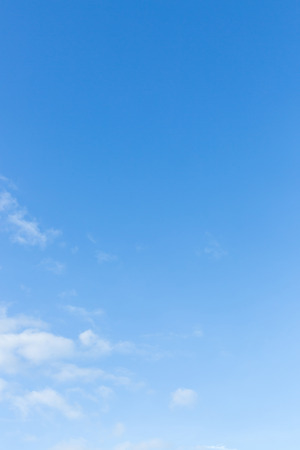 cloud background: clear blue sky and white cloud, natural background