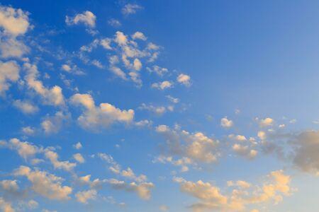 beautiful heaven: cloudy on clear blue sky, beautiful heaven sky background